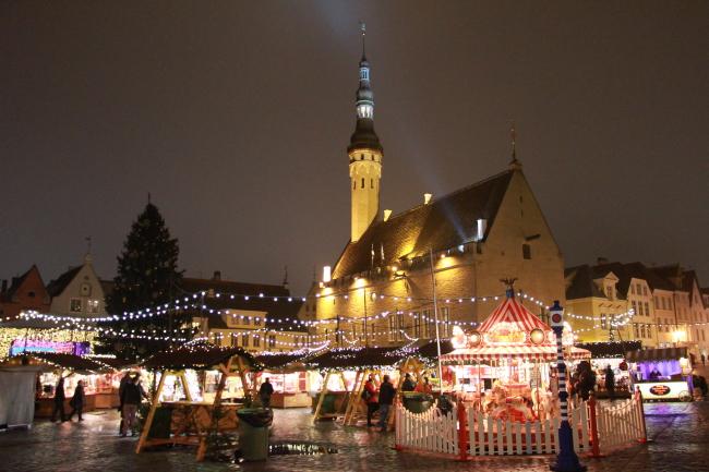 Marché de Noël - Tallinn