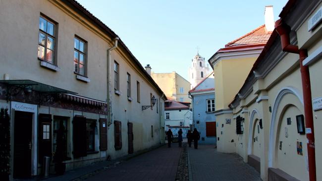 Dans les rues de Vilnius