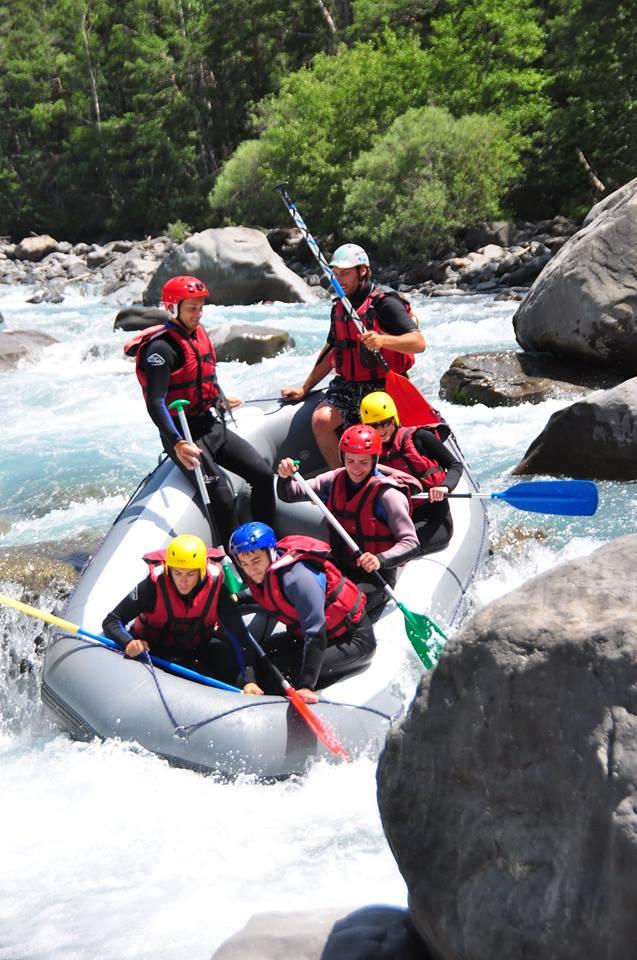 Séminaire récompense collaborateurs rafting
