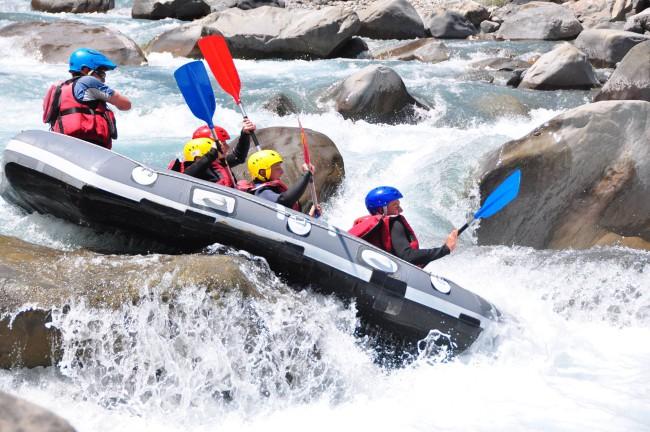 Séminaire récompense collaborateurs rafting ubaye