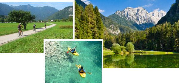 sports nature en Slovénie