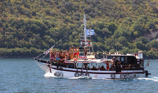 Croisière privative dans le fjord de Kotor