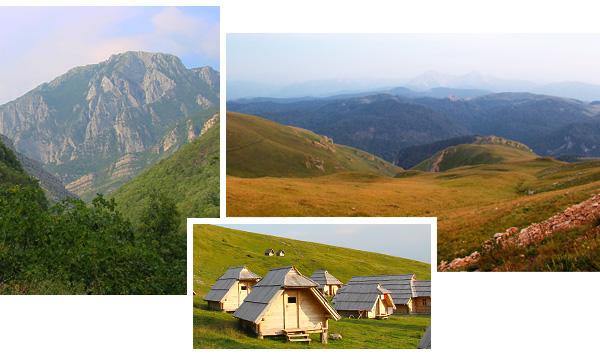 Le Monténégro, pays montagneus par excellence