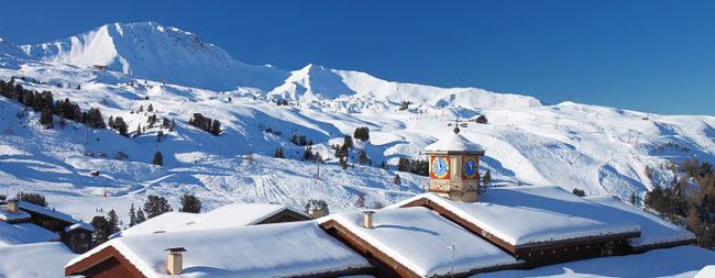 paysage montagne en hiver