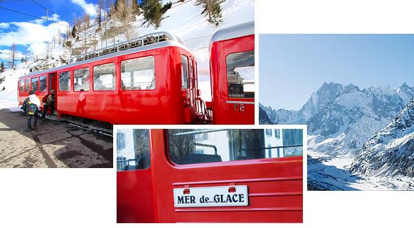 Le petit train de la Mer de Glace - Chamonix