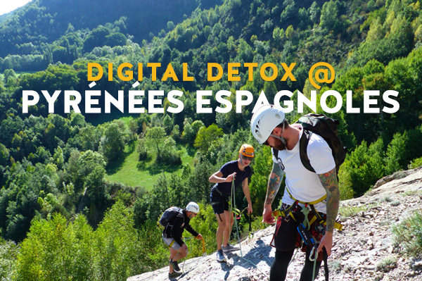 seminaire digital detox à Benasque
