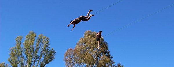 Séminaire à Séville : saut en duo